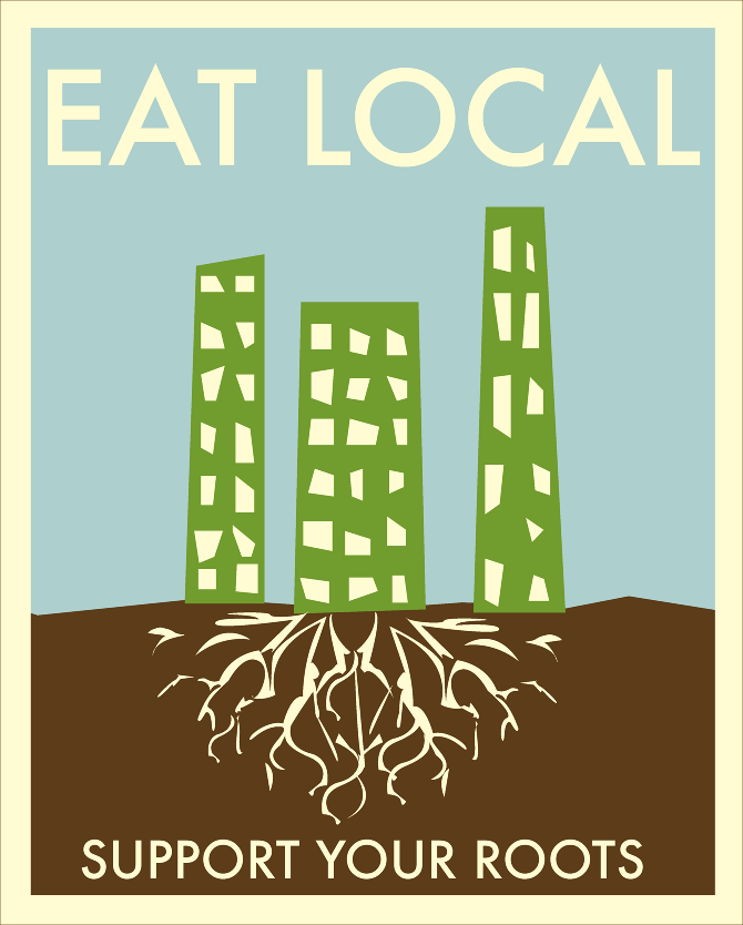 eat local poster - photo #4