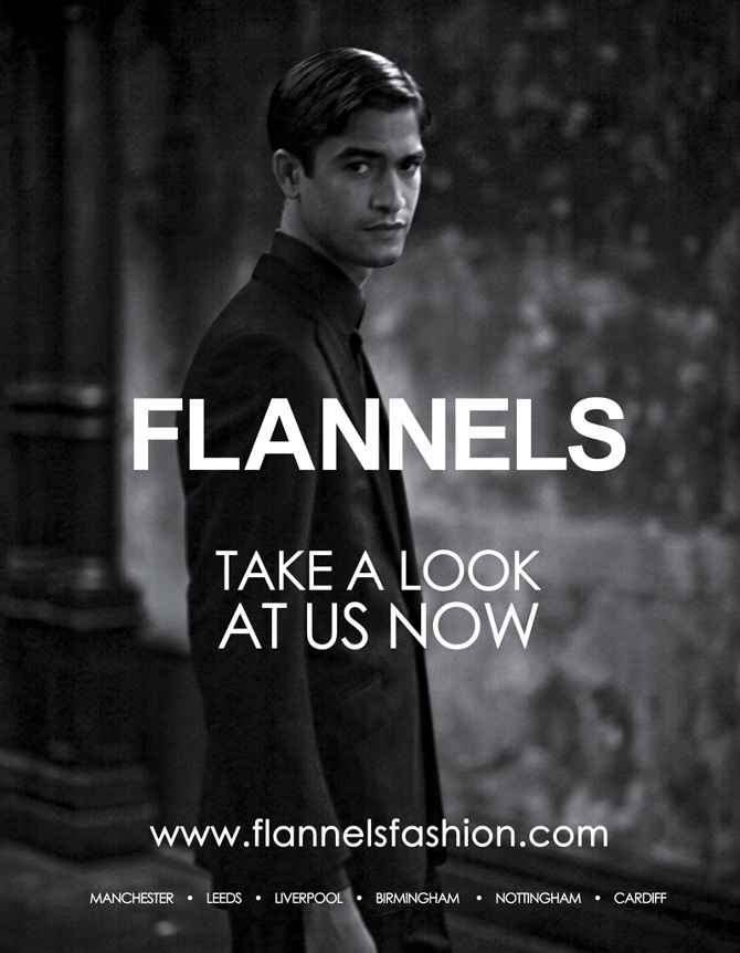 Flannels Fashion - Hsin | Digital Design | UK