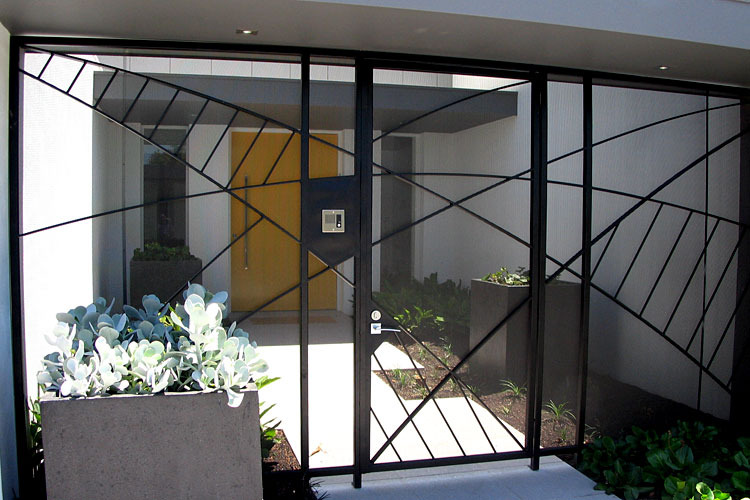Gate Design Selwyn Blackstone Architect Melbourne