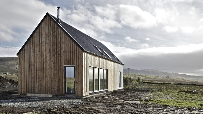 r house rural design architects isle of skye and the highlands and islands of scotland. Black Bedroom Furniture Sets. Home Design Ideas