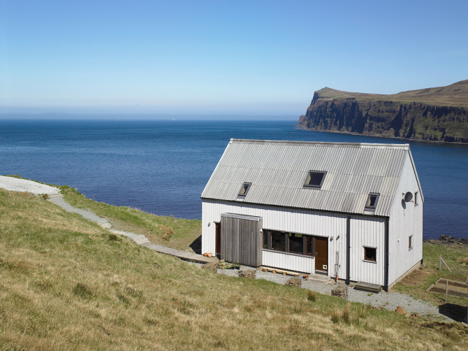 The Wooden House Rural Design Architects Isle Of Skye